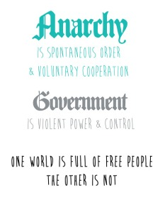 Anarchy is Synonymous with Liberty