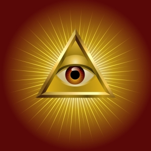 Heru and Odin sacrificed one of their eyes for Wisdom.